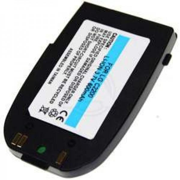 AccuCell batteri passer til LG C2200 batteri