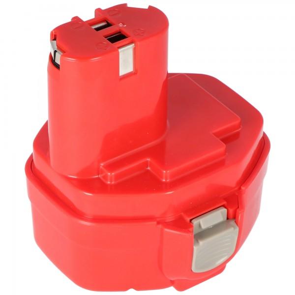 Batteri passer til Makita 1420, 1422, 1433, 1434, 1435 14.4V 3.0Ah