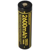 Nitecore Li-Ion batteri type 18650 - 2600mAh - NL1826R