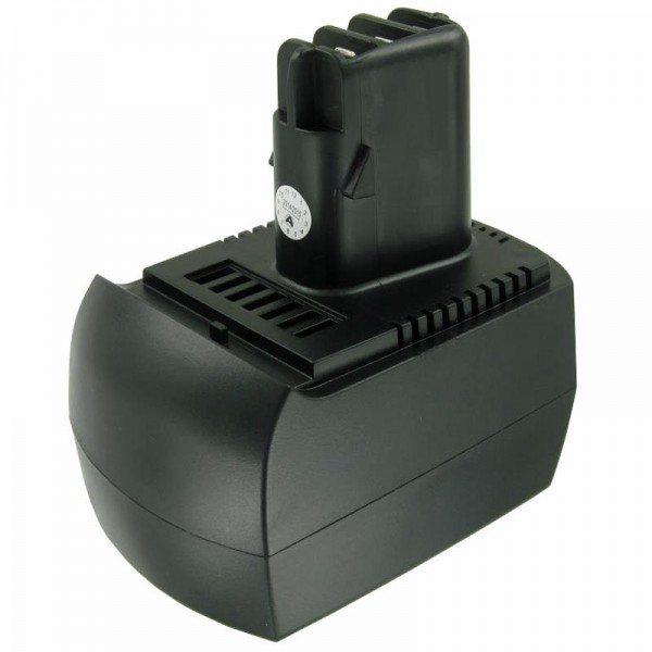 Batteri passer til Metabo 6.25473, 6.25474 Air-Cooled 12V NiMH 2Ah