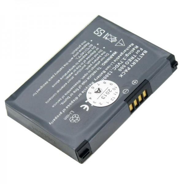 AccuCell batteri passer til Palm One Treo 500, 500p, 500v