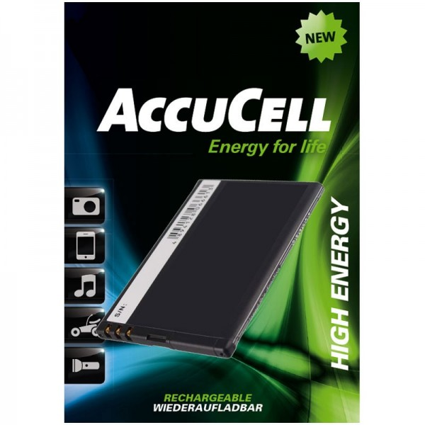 AccuCell batteri passer til Nokia 808 PureView, N9