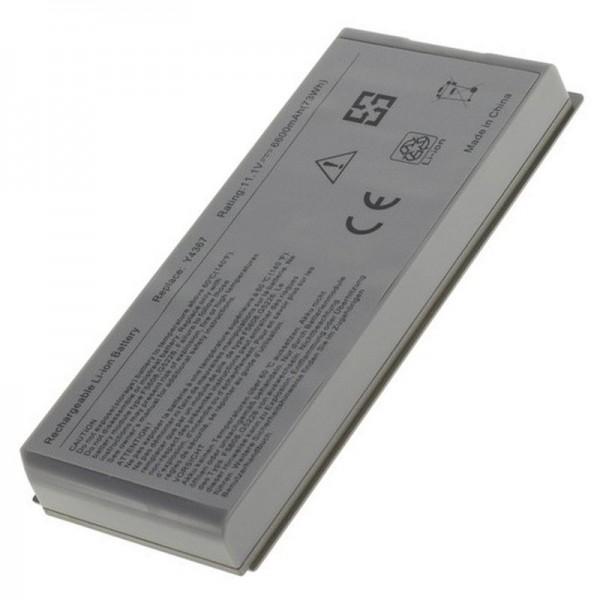 Batteri passer til Dell Latitude D810, Dell Precision M70