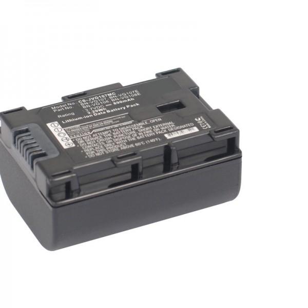 BN-VG107 kompatibelt udskiftningsbatteri fra AccuCell med 890mAh