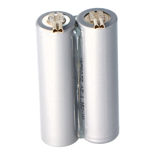 Batteri til Moser Ermila Genio Plus Genius Batteri 1854-0078, 2,4V NiMh