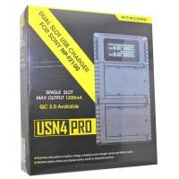 Nitecore USN4 PRO USB oplader til Sony kameraer