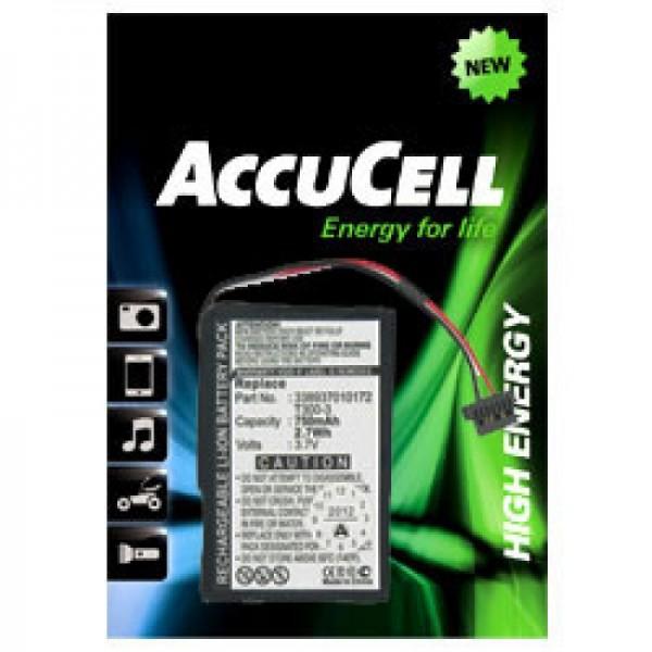 Batteri passer til MITAC Mio Moov 400, Moov 405, 3389370172