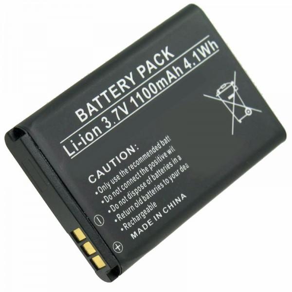 AccuCell batteri passer til Doro Primo 215, Primo 405, RCB405, PhoneEasy 332, Hisense CS668