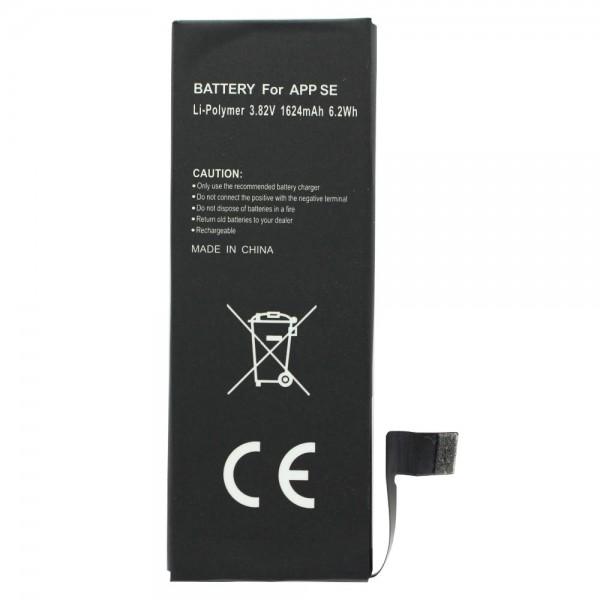 Batteri passer til Apple iPhone SE batteri 616-00107, 1600mAh