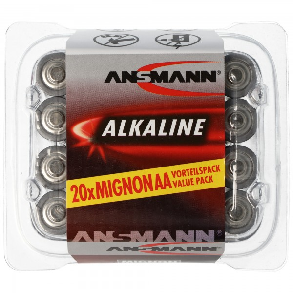 Ansmann RED Alkaline Mignon / LR06 20er Pack