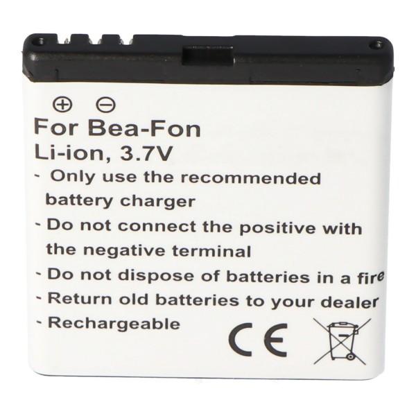 Batteri passer til Bea-Fon SL652A, SL652AF, SL660, SL670 batteri