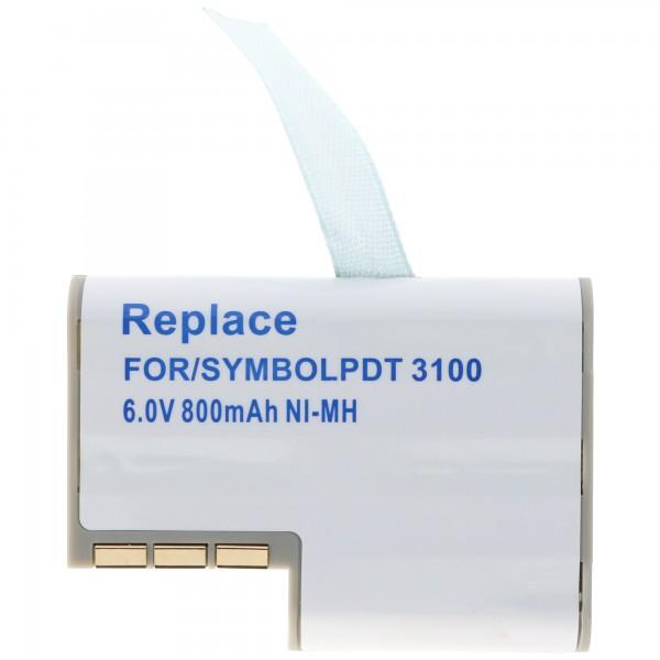 AccuCell batteri passer til Symbol PDT3100, 3110, 3120, 3140, 3142
