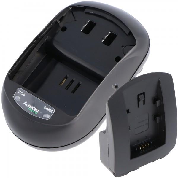 AccuCell oplader egnet til Panasonic VW-VBT190 batteri, VW-VBT380