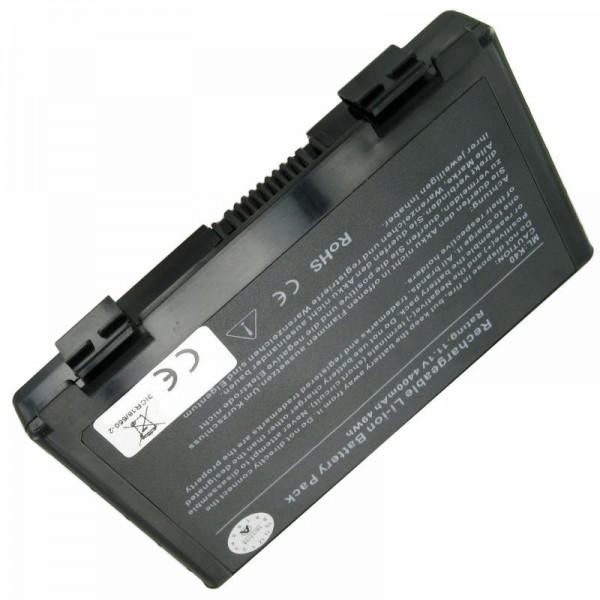 AccuCell batteri passer til Asus A32-F82, 11.1V med 5200mAh