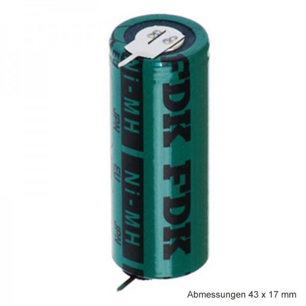 Sanyo HR-4 / 5AU NiMH genopladeligt batteri 4 / 5A med 1-sidet print på begge sider