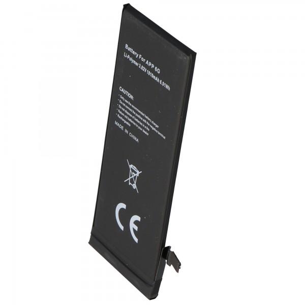 AccuCell batteri passer til Apple iPhone 6 batteri til selvinstallation