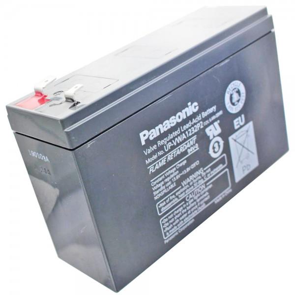 Panasonic UP-RWA1232P2 blybatteri 12Volt 4.5Ah