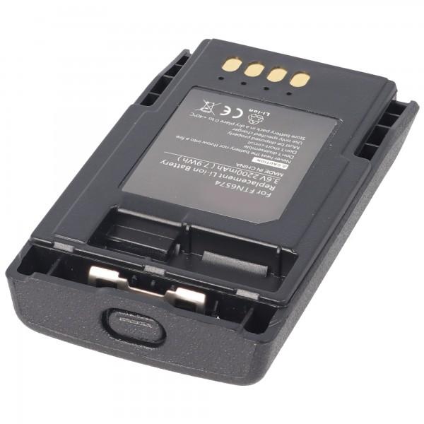 MOTOROLA TETRA MTP850, FTN6574A Genopladeligt batteri som en replik af AccuCell