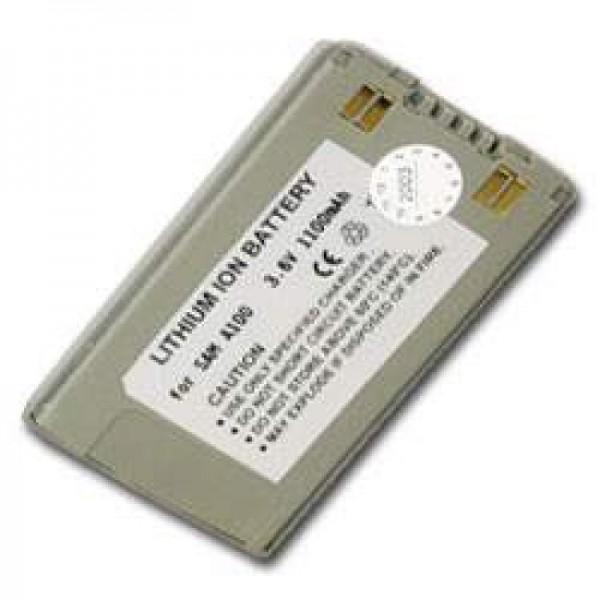 AccuCell batteri passer til Samsung SGH A100, A110, 1100mAh